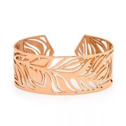 Pastiche Firefly Rose Gold Stainless Steel Bangle